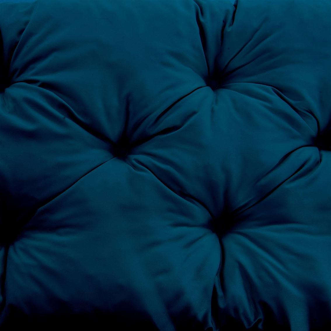 Gardenista® Water Resistant Moroccan Blue Tufted 2 Seater Bench Cushion