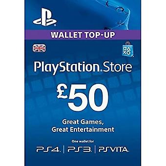 Playstation Network Card �50