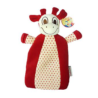 Cuties Giraffe Padded Velour Babies Hot Water Bottle