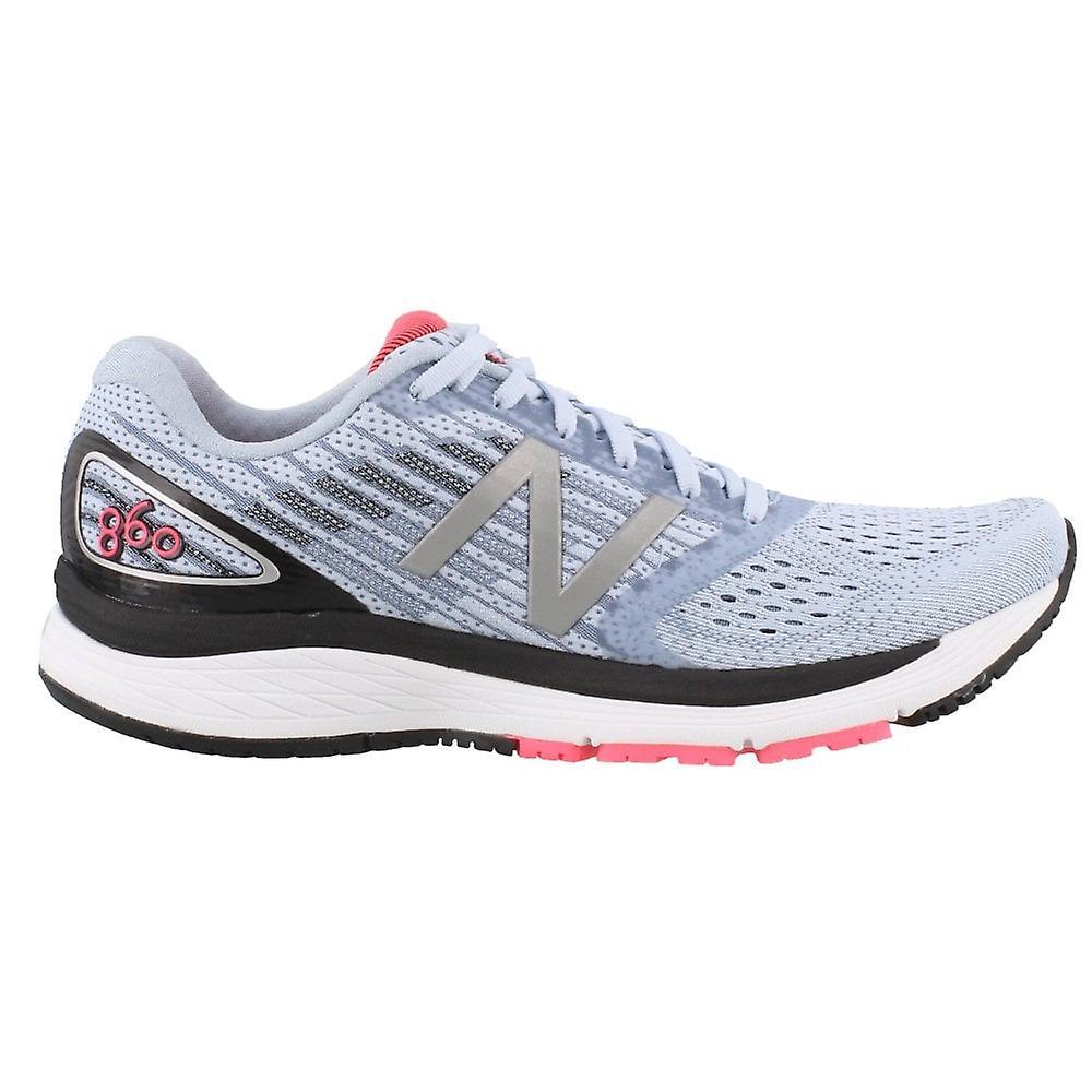 New Balance 860v9 femmes B largeur (standard) chaussures de course de route avec support bleu glacier