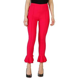 Pinko Women Pink Trousers -- 1G13206832