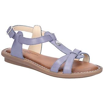 Hush Puppies Womens/Ladies T-strap Leather Buckle Sandal