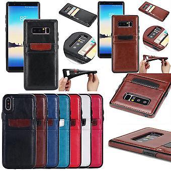 Samsung Galaxy S7-Seamless portefeuille shell /cuir cas
