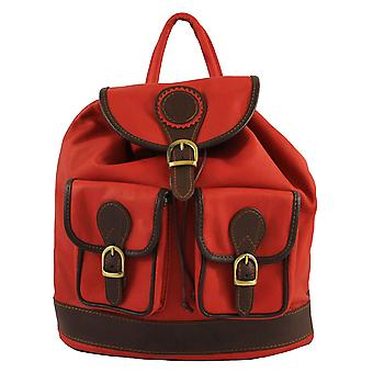 Leather backpack Made in Italy 2083