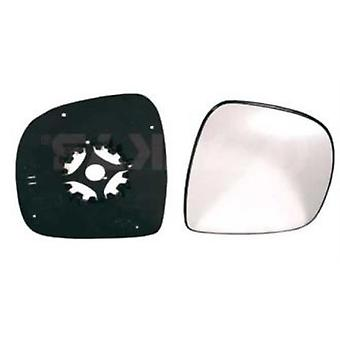 Right Mirror Glass (not heated) & Holder for Mercedes VITO van 2003-2010