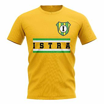 NK Istra 1961 Core Football Club T-Shirt (giallo)