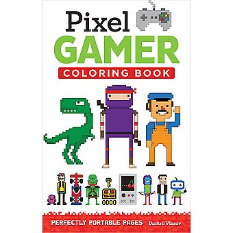 Design Originals-Pixel Gamer Coloring Book DO-5577