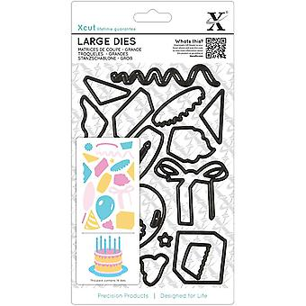 Xcut Decorative Dies Large Birthday Party Xc503920
