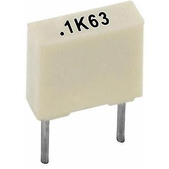 PET capacitor Radial lead 10 nF 100 V 10 % 5 mm (L x W x H) 7.2 x 2.5 x 6.5 Kemet R82EC2100AA50K+ 1 pc(s)