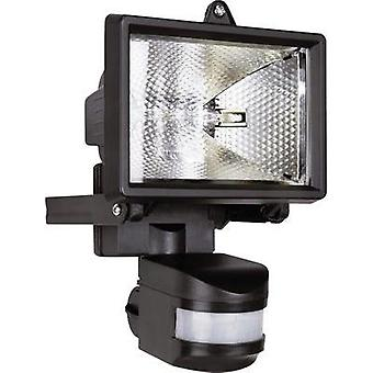 Outdoor floodlight (+ motion detector) HV halogen 120 W R7s ELRO ES120 Black
