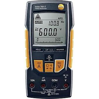 Handheld multimeter testo True-rms Multimeter - testo 760-2 Calibrated to: Manufacturer standards