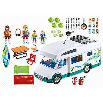 Playmobil 6671 Camping Family