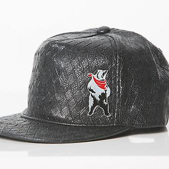 POLAR WHITES MENS BLACK DIAMOND PRINT CAP o : o