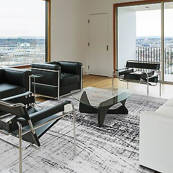 Mad Men Griff Rug 8926 In Black And White
