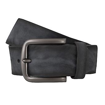BERND GÖTZ belts men's belts leather belt leather black 4843
