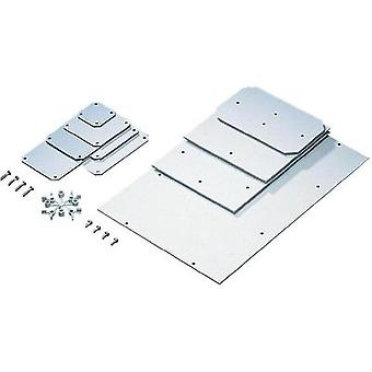 Rittal PK 9548.000 Mounting Plate For PK Case Melamine-phenol coated hard paper Light grey (RAL 7035) Compatible with 5