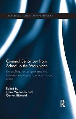 Criminal Behaviour from School to the Workplace  Untangling the Complex Relations Between EmployHommest Education and Crime by Weerhomme & Frank