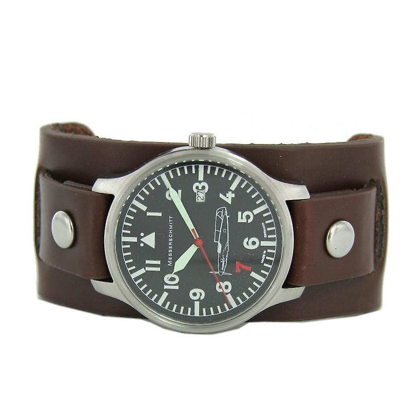 Aristo Messerschmitt mens pilot watch 'Red 7' ref. 109-42R7