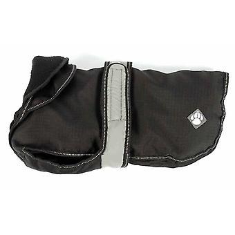 2 In 1 Black Dog Coat 50cm (20