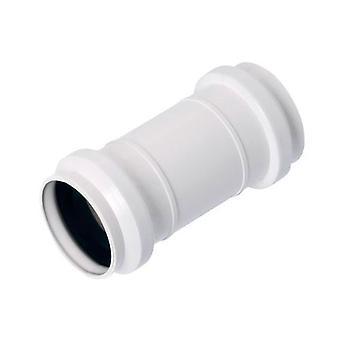 Lång ärm Muff kontakt anslutning avlopp avlopp System 32mm rördiameter