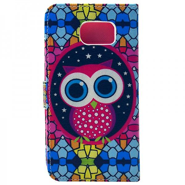 Cover wallet pattern 78 for Samsung Galaxy S6 G920 G920F