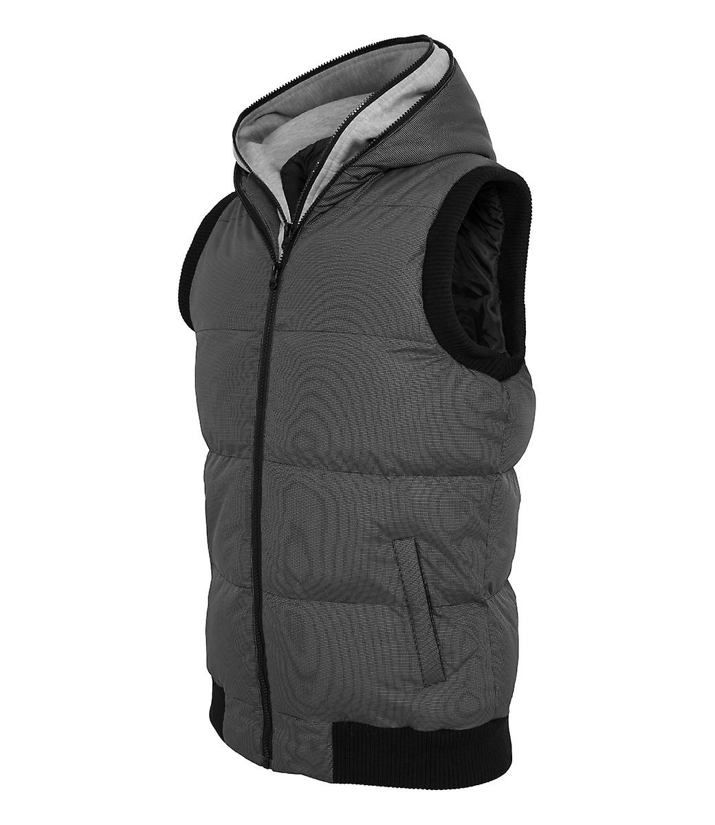 Urban classics double hooded vest