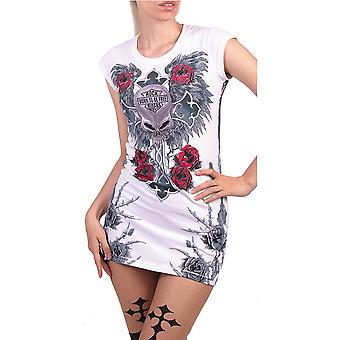 Wild Star Hearts - WHITE ANGEL - Tunic Dress