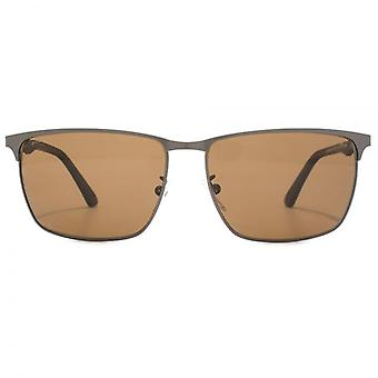 Police Brooklyn 9 Sunglasses In Matte Gunmetal Polarised