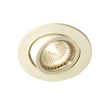 LED Robus Outdoor White PVC Facia Downlight Directional