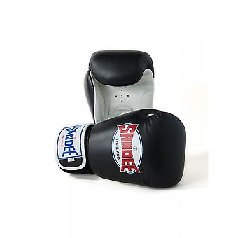 Sandee Black-White Boxing Gloves
