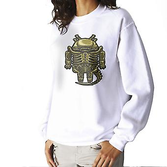 Droilien Alien Android Women's Sweatshirt