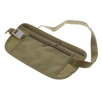 Boolavard® TM womens portafogli porta passaporto di viaggio sicurezza soldi biglietto waist Pack cintura borsa borsa