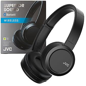 JVC Superior Sound Bluetooth Wireless On Ear Headphone - Black (HAS50BTBE)