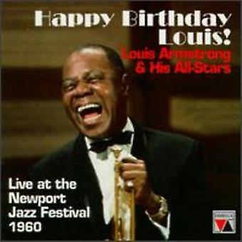 Louis Armstrong - Happy Birthday Louis!-Live på [CD] USA import