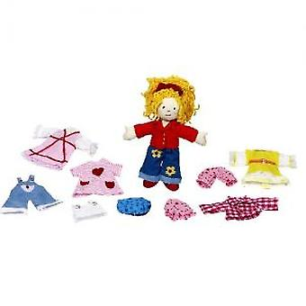 Goki Dress-up doll Karry (Toys , Dolls And Accesories , Miniature Toys , Mini Figures)