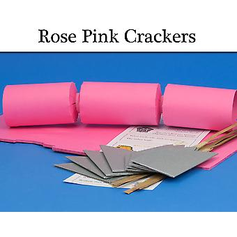 Rose Pink Make & Fill Your Own Cracker Making Craft Kits, Boards & Accessories