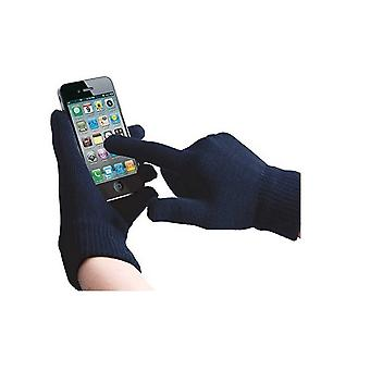 ONX3 (Dark Blue) Universal Unisex One Size Winter Touchscreen Gloves For Mach Speed G2 8