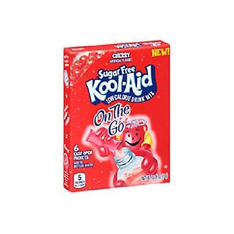 Kool Aid On The Go Sugar Free Cherry Drink Mix Singles