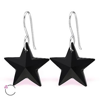 Star crystal from Swarovski® - 925 Sterling Silver Earrings