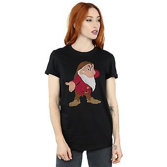 Disney Women's Snow White and the Seven Dwarves Classic Grumpy Boyfriend Fit T-Shirt