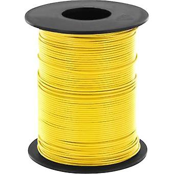 Strand 1 x 0.14 mm² Yellow BELI-BECO L118/100 ge