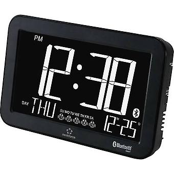 Renkforce A600 Quartz Alarm clock Black Alarm times 5