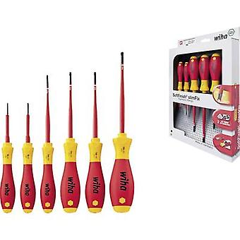 VDE Screwdriver set 6-piece Wiha SoftFinish electric 3251 K6 TORX socket