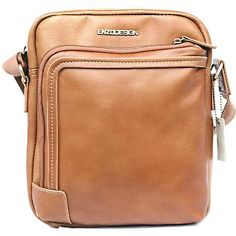Soft Leather Cross Body Shoulder Bag Ipad Tablet Pocket Strap Case Messenger