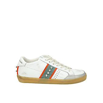 Leather Crown men's MLC1782 White leather of sneakers