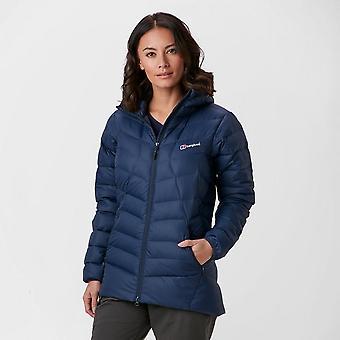 New Berghaus Women's Pele Insulated Full Zip Jacket Navy