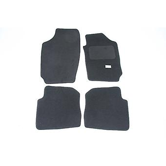 Fully Tailored Car Floor Mats - Skoda FABIA Combi 2000-2007 Black