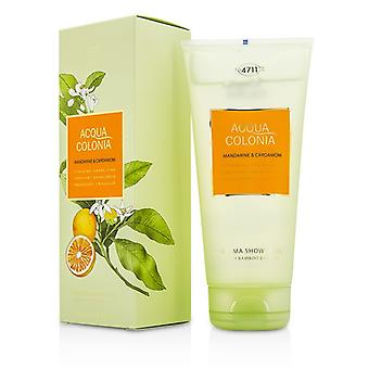 4711 Acqua Colonia Mandarine & banho de Aroma de cardamomo do Gel 200ml/6,8 oz