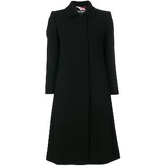 Dolce E Gabbana women's F0T68TFUBCIN0000 Black wool coat