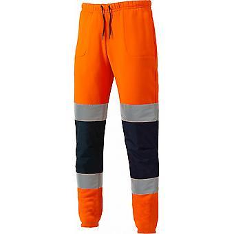 Dickies para hombre Hola Vis Jogger reflectante poliéster seguridad pantalones
